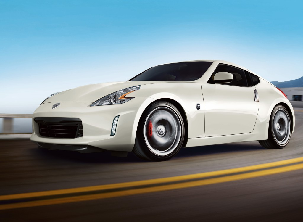 The 2016 Nissan 370Z another affordable rocket.