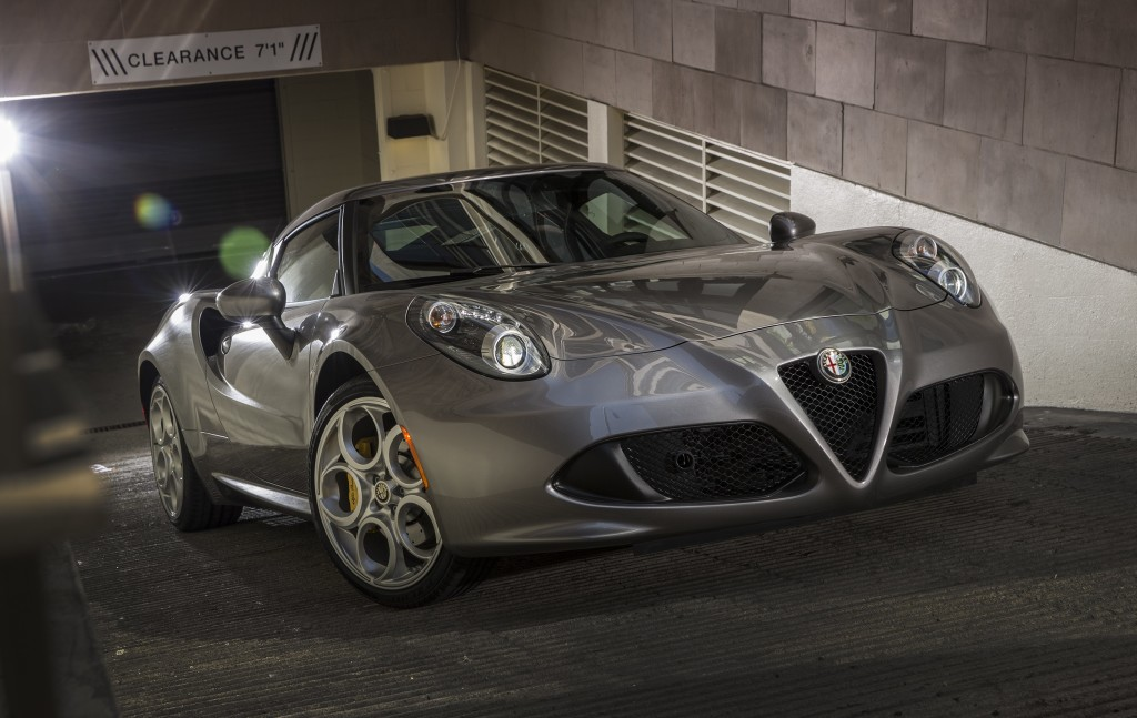 The Alfa Romeo 4C feels even faster than it is.