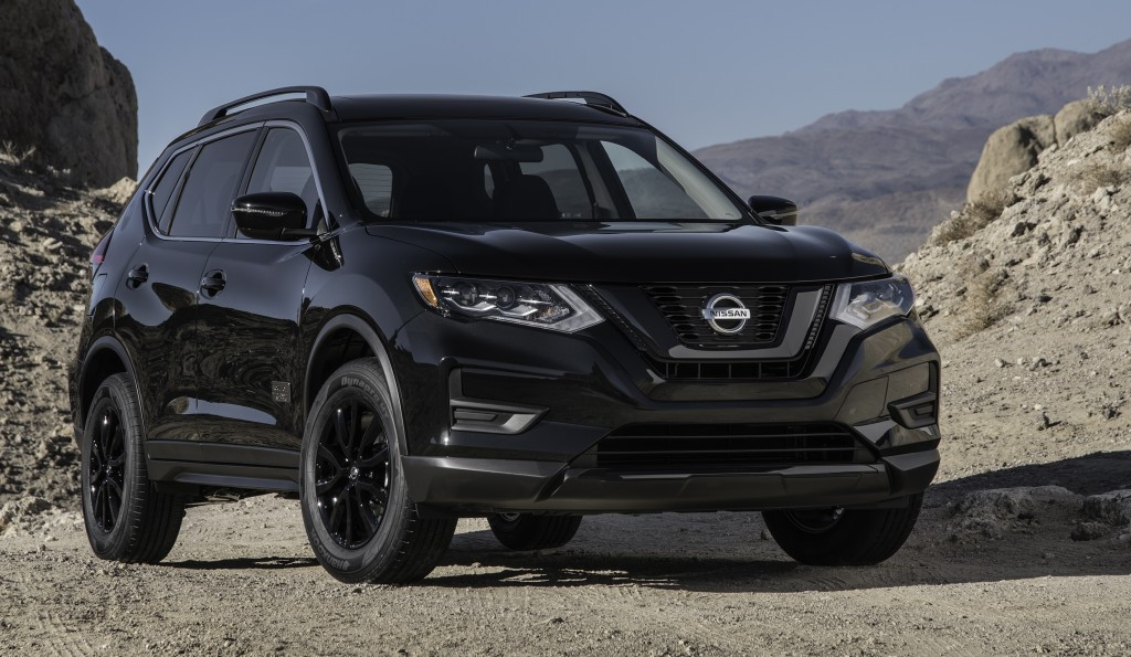 The Nissan Rogue was named compact crossover award winner.