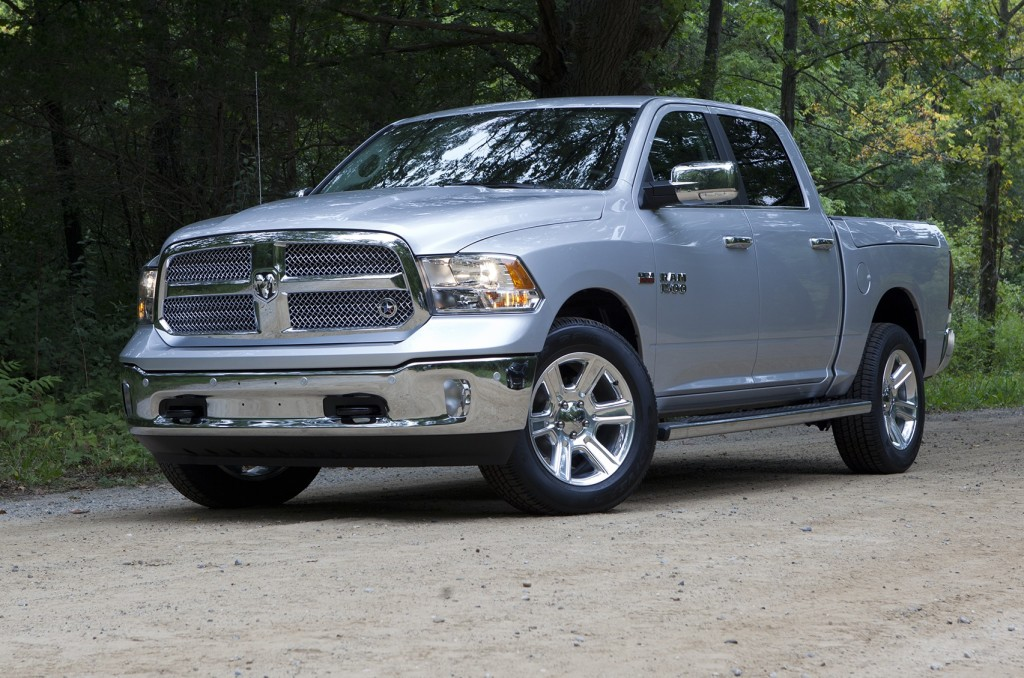 The Ram 1500 was one of three large pickups named.
