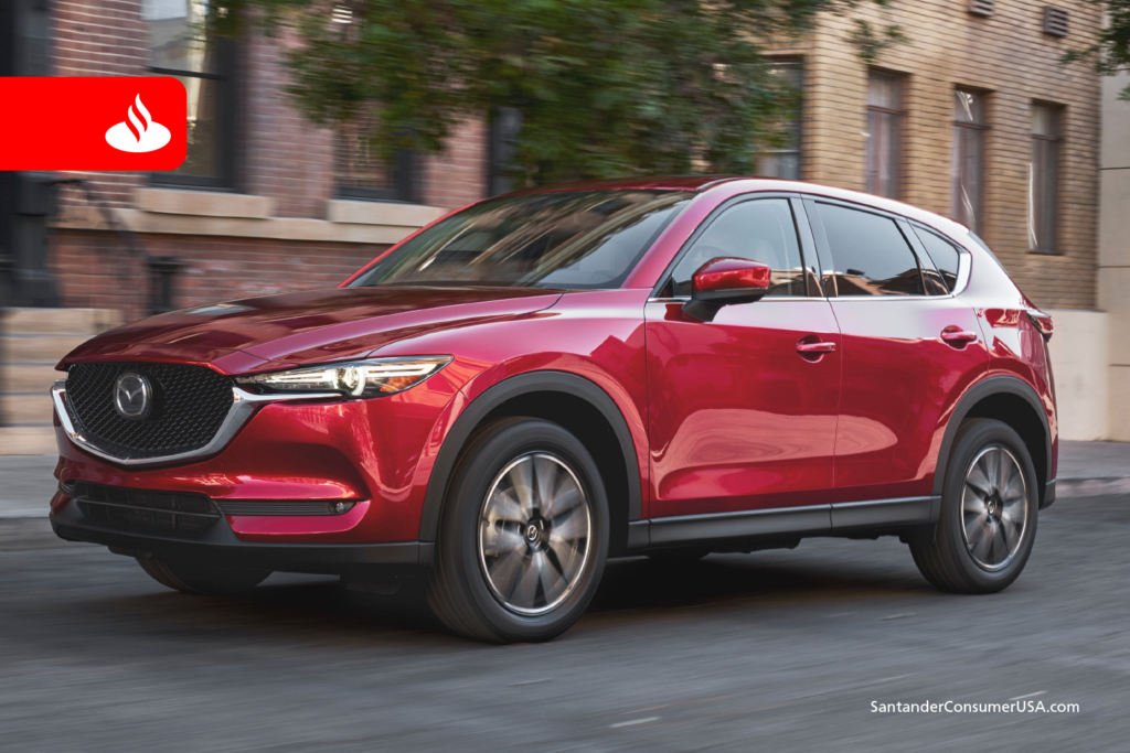 The Mazda CX-5 was named Best Utility Vehicle of the Year for 2016.