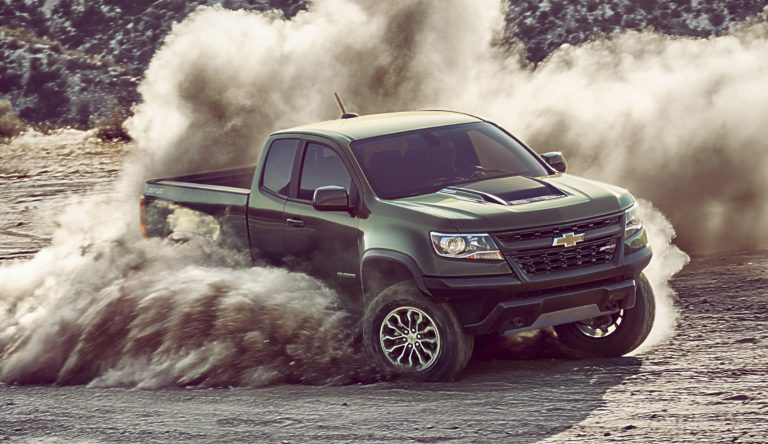 The Chevrolet Colorado made its mark in the compact pickup category.