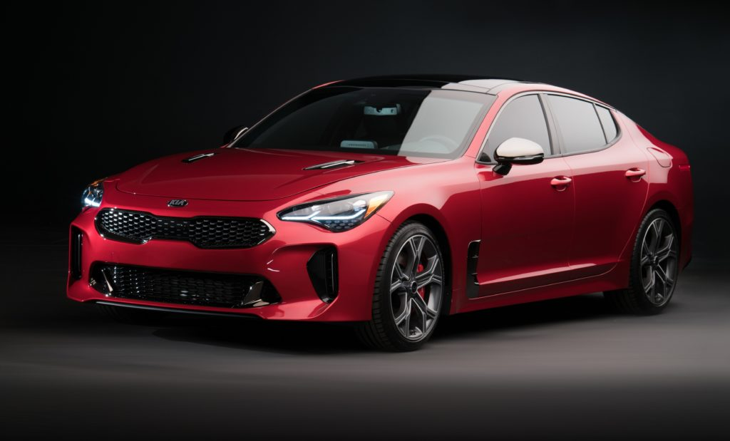 Look for the all-new Kia Stinger at the DFW Auto Show.