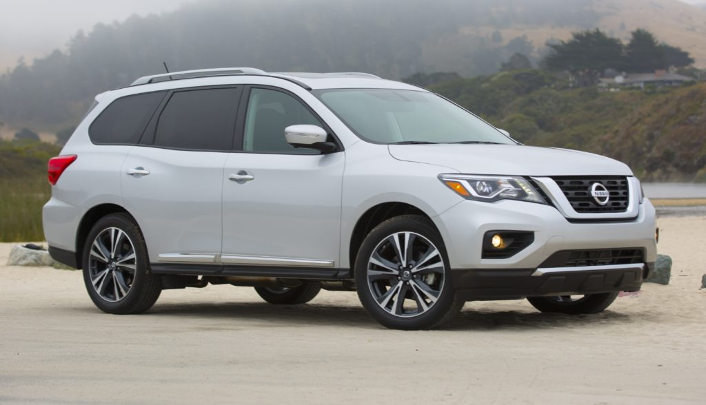 Nissan's Pathfinder is on the roster among 2017 models.
