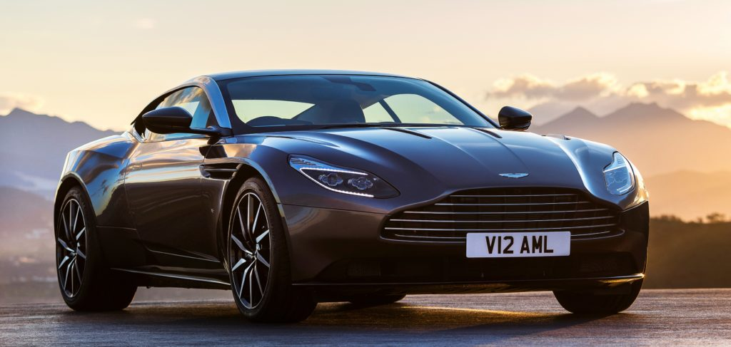 The Aston Martin DB11 will be featured in Dallas.