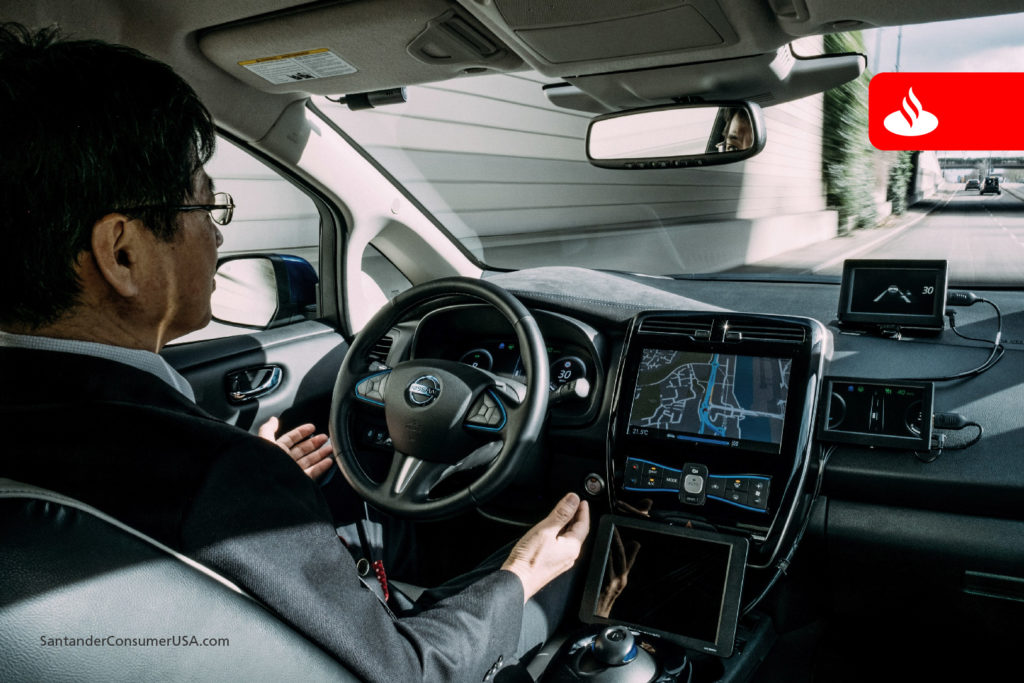 Nissan tests the ultimate hands-free device.