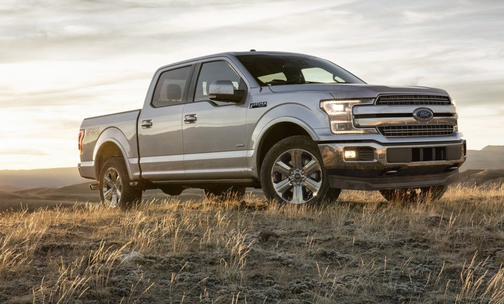 The Ford F-150 hauled in the KBB's Best Overall Truck award.