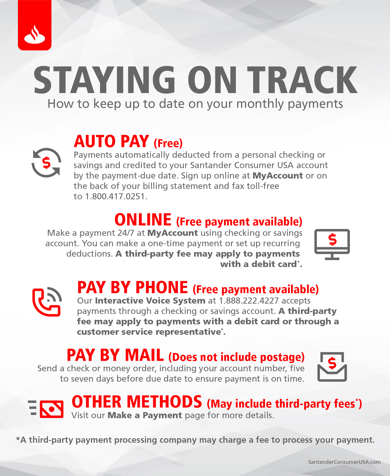 How to keep your monthly vehicle payments up to date ...