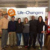 Volunteer 'Life Changers' provide help to hungry families
