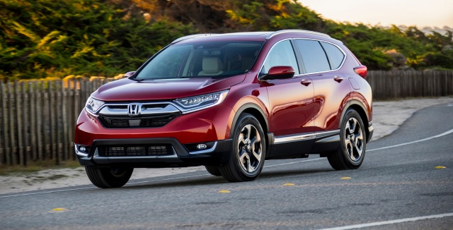 Honda CR V Hauled Off The Utility Vehicle Award