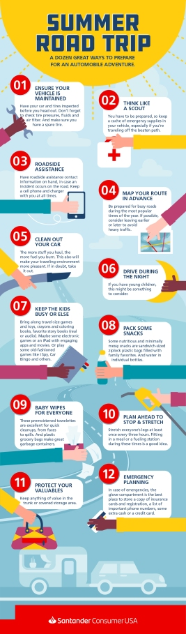 Summer road-trip tips: 12 ways to help you keep a sunny disposition