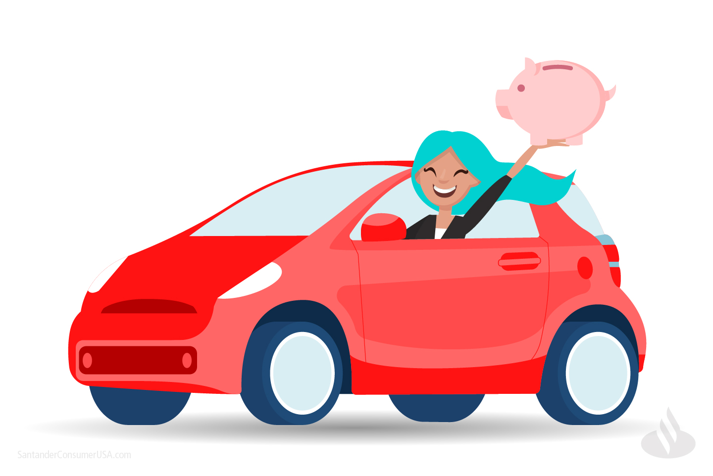 Simple interest vehicle financing