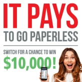 Santander Consumer USA customers could win $10,000 for choosing paperless statements