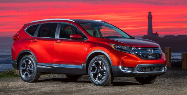 Red Honda CR-V best overall mainstream brand