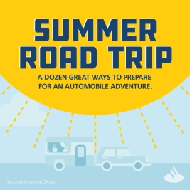 Summer road trip tips