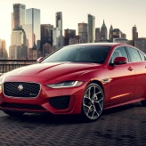 Jaguar XE luxury car brand