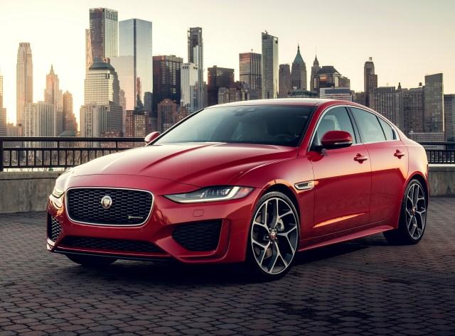 Jaguar XE luxury car brand