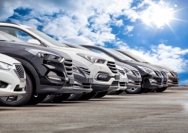 Line of vehicles used car prices