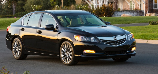 Acura RLX used car prices
