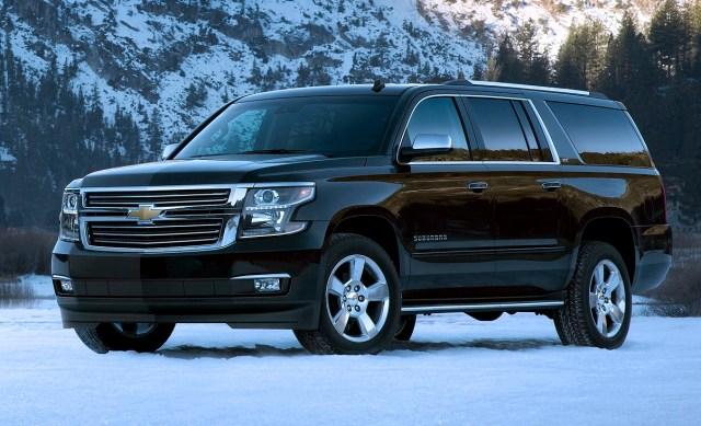 Chevrolet Suburban most-durable vehicle