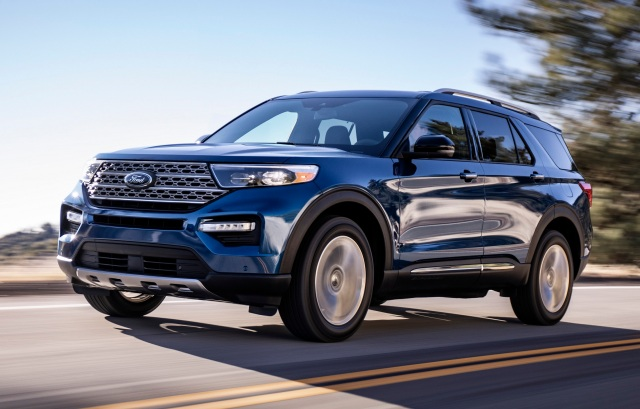 Ford Explorer best, most popular midsize SUVs