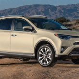 Beige Toyota RAV4 used car deal