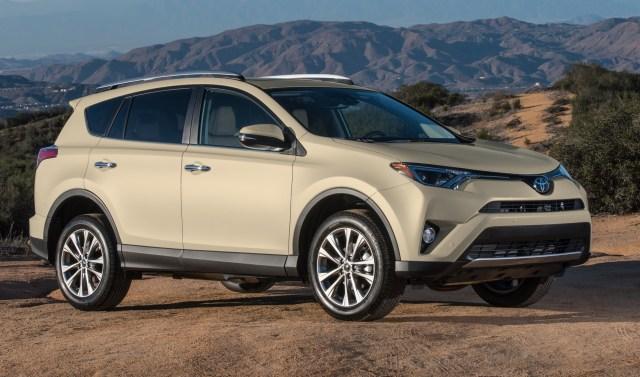 Beige Toyota RAV4 used car deal