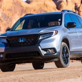 Honda Passport top-rated midsize SUV