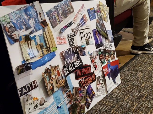 Bus Stop Project vision board