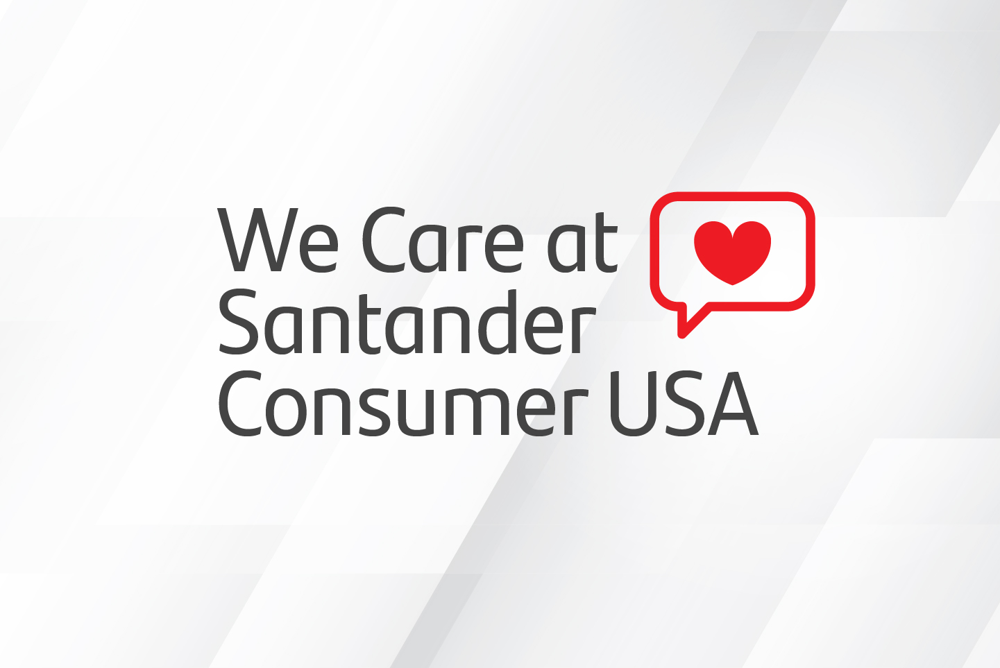 We Care at Santander Consumer USA