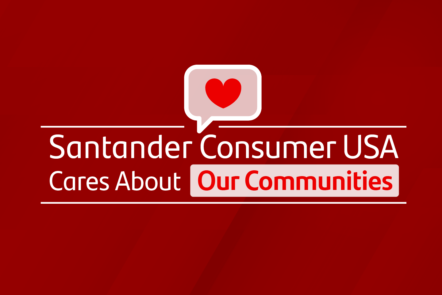 Our Communities graphic