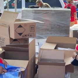 SC volunteers send students to school with supplies